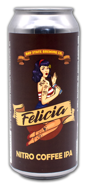 Bay State Brewing Company Felicia Nitro Coffee IPA Can