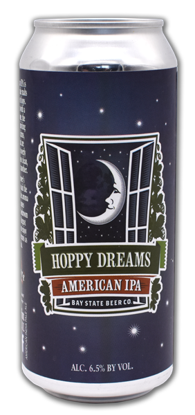 Bay State Brewing Company Hoppy Dreams American IPA Can