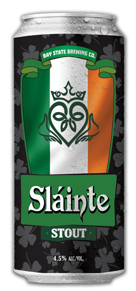 Bay State Brewing Slainte Stout