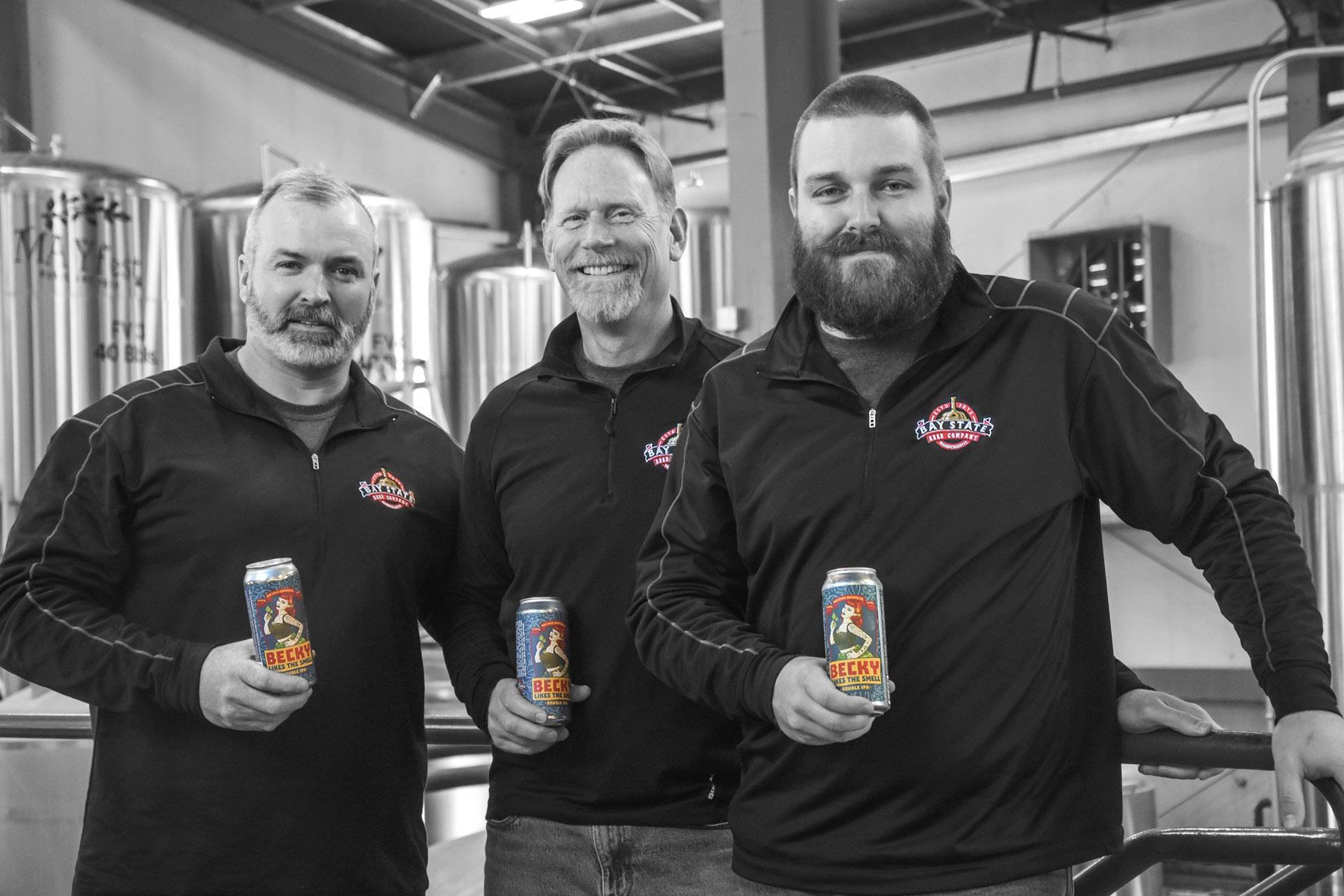 Bay State Brewing Company Team Color Splash