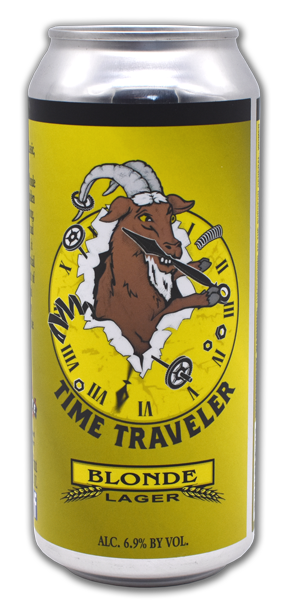 Bay State Brewing Company Time Traveler Blonde Lager Can